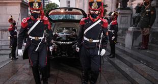 Fallecimiento del expresidente Carlos Saúl Menem.
