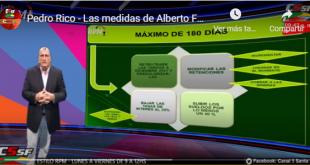 Pedro Rico: Las medidas de Alberto  Fernández se cumplieron en un 50%