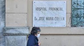 Hospital Cullen montó un contenedor térmico ante colapso de morgue